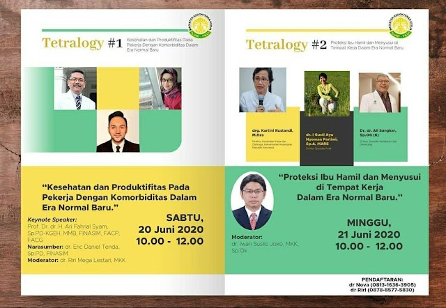 SKP IDI:Tetralogy Webinar Ke 2 New Normal in The Work Place From Health & Productivity Persprective