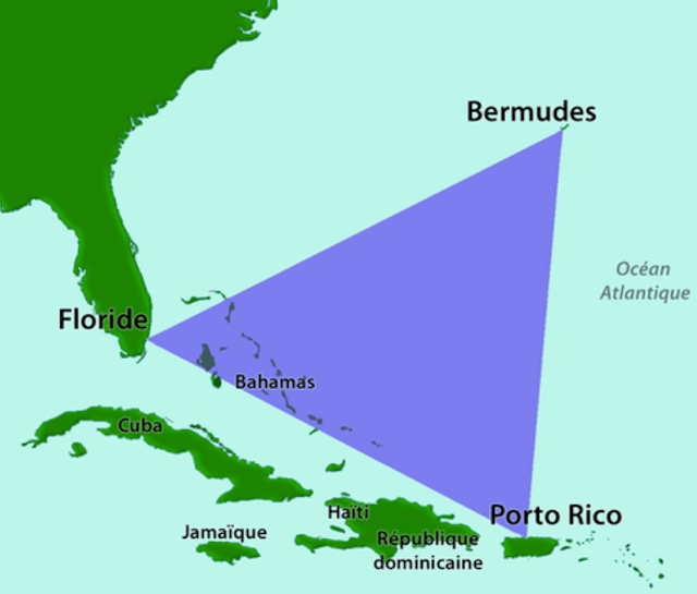 Bermuda Triangle, or that famous geographic area of ​​the Atlantic Ocean