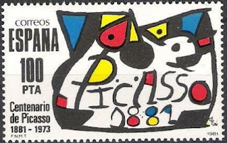 Spain Picasso 1981