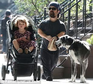 Actor Peter Dinklage & His beautiful Family take a stroll ...