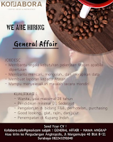 We Are Hiring at Kollabora Cafe Surabaya Januari 2020