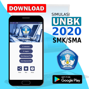Download aplikasi simulasi unbk 2020