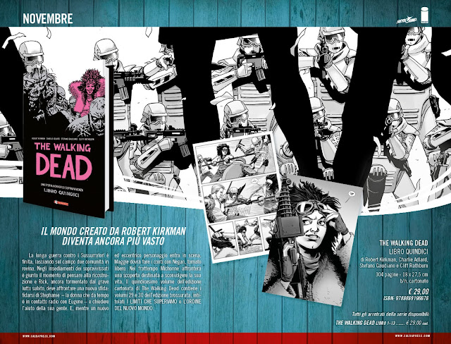 The Walking Dead: Libro Quindici