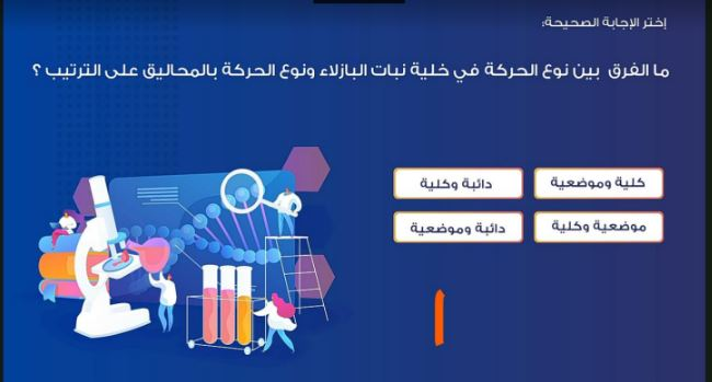نماذج الوزارة الاسترشادية فى الاحياء للصف الثالث الثانوى 2021 من موقع حصص مصر