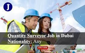 Quantity Surveyor/Quantity Engineer Part Time Job Vacancy in Construction Company Dubai