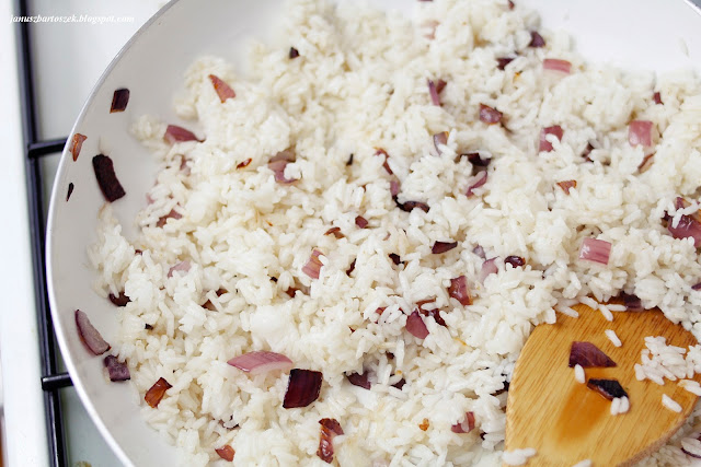 jak zrobić ryż z bakaliami
