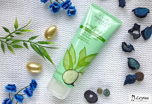 Avon Naturals skin care Oczyszczający żel i tonik 2 w 1 Drzewo Herbaciane i Ogórek
