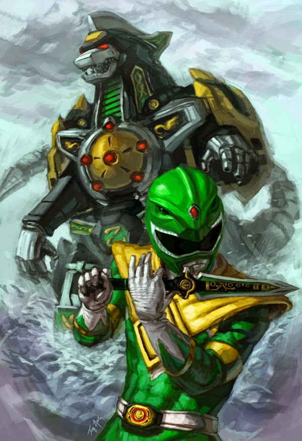 Will the DragonZord and Green Ranger be in the new Power Rangers Movie?
