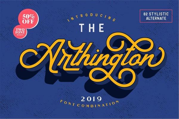 The Arthington Font