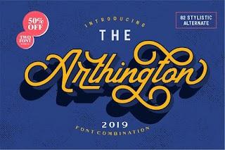 The Arthington + Bonus 2 Font