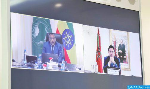 وزارة الخارجية الإثيوبية تنوه بنتائج المباحثات بين السيدين بوريطة وديميكي ميكونين