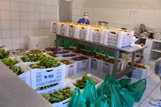 Banco de alimentos de Picuí recebe doação do deputado 'Chió' que beneficiou as famílias do programa Criança Feliz