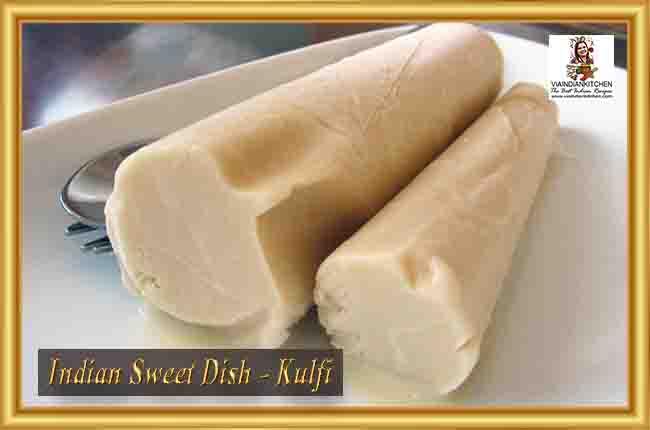Indian Sweet Dishes - Kulfi