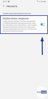 Jak wyłączyć szybkie ładowanie bezprzewodowe Samsung?