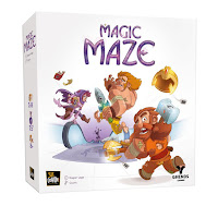 Magic Maze la scatola del gioco