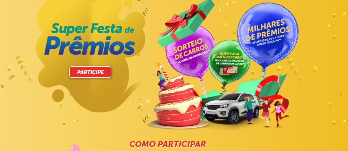 Participar Super Festa de Prêmios Nacional, Mercadorama e Super Bompreço - Cadastrar
