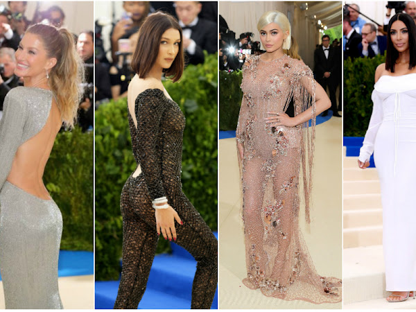 Vestidos da Noite - Met Gala 2017