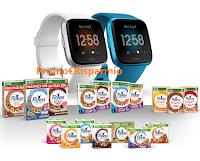 Logo Concorso Smartwatch Fitness Nestle : vinci 200 Fit-Bit Versa Lite Edition