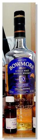 Bowmore 10 ans Tempest Batch Vi
