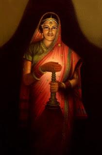 Replica Painting From Retro Artist Raja Ravi Varma
