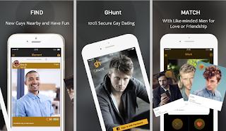 Grinder App for Men; HIV Gay Dating Site; GHunt is