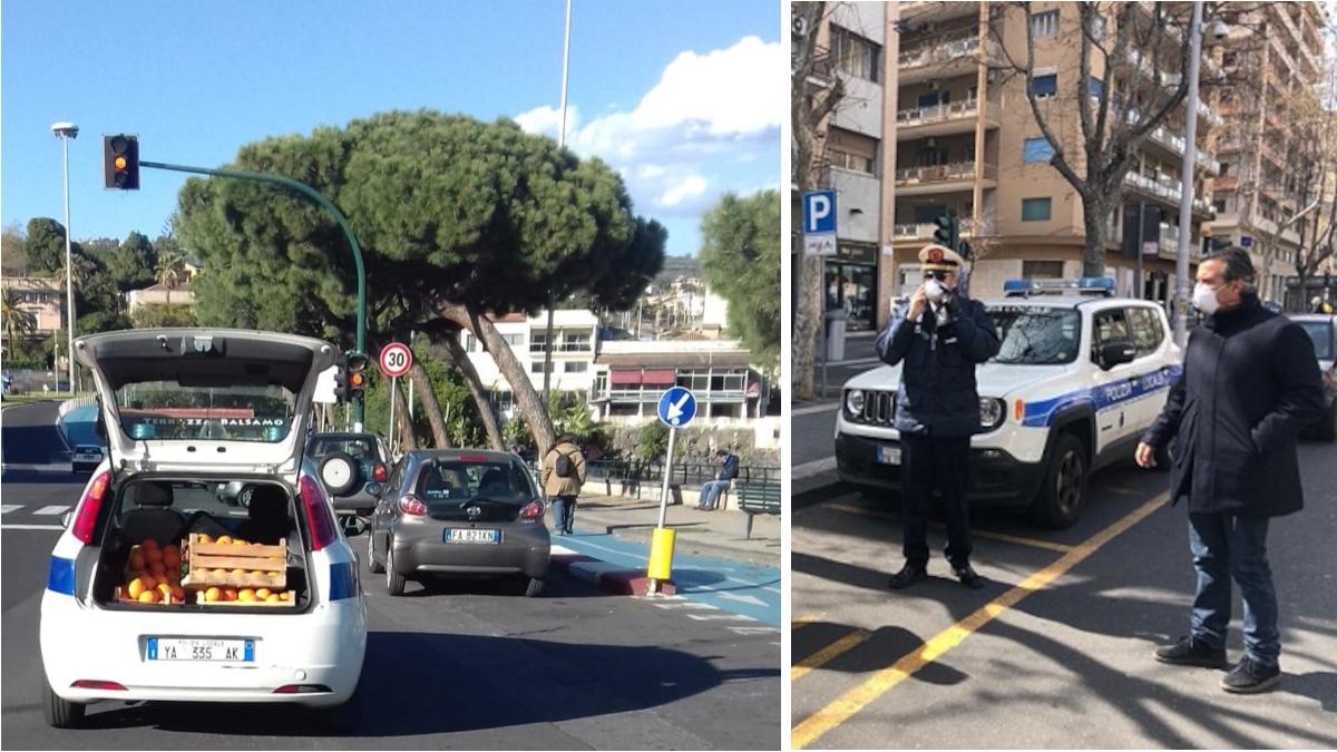 Polizia Municipale controlli commerciali anti Covid