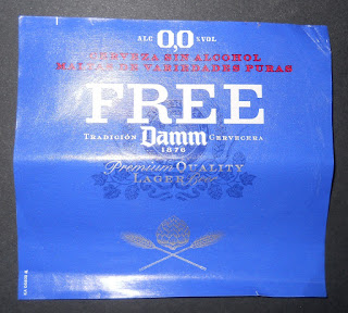 cerveza cero cero alcohol free damm