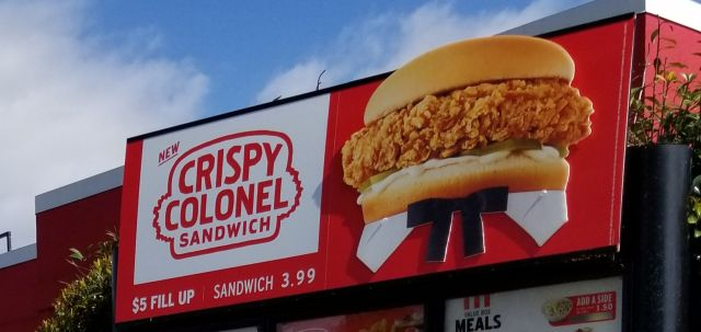 KFC Rolls Out New Crispy Colonel Sandwich and Signature