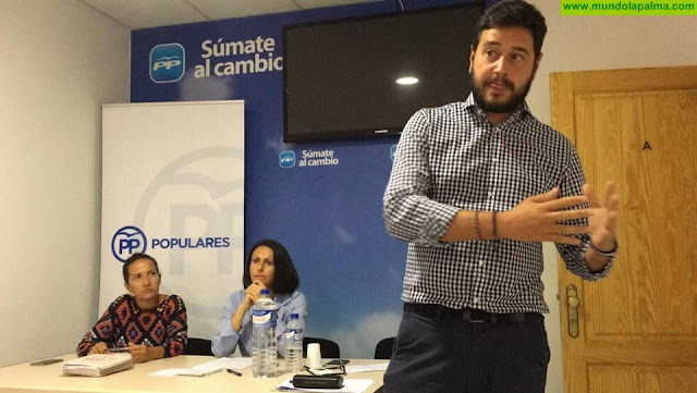 El PP denuncia que La Palma no tenga ni una sola inversión turística en el proyecto de los PGC 2020