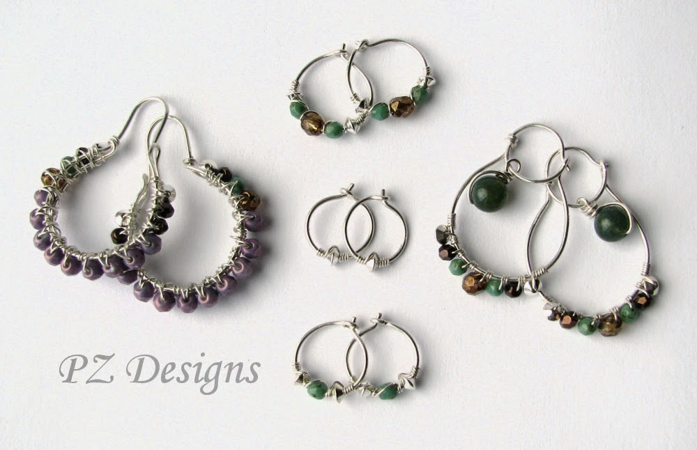 Silver Serpent Studio's Blog: Matched Earring Sets for ...