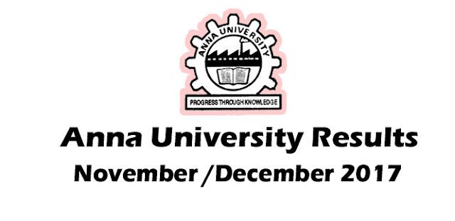 Anna University Results 2018 - aucoe.annauniv.edu