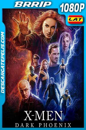 X-Men: Dark Phoenix (2019) 1080p BRrip Latino – Ingles