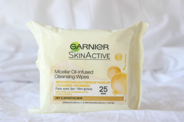 Garnier Micellar Oil-Infused Cleansing Water Wipes Review