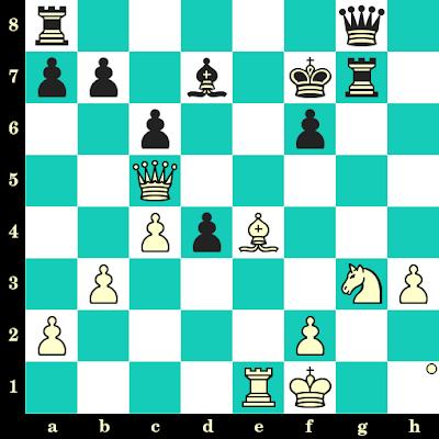 Les Blancs jouent et matent en 2 coups - Magnus Carlsen vs Helgi Gretarsson, Réthymnon, 2003