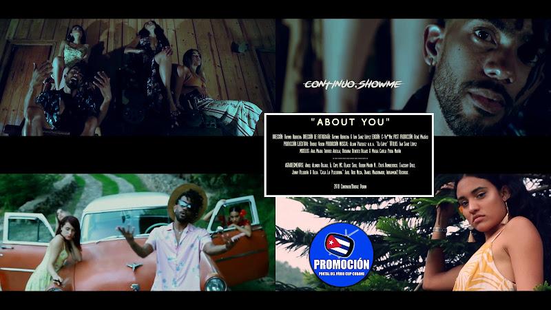 Continuo - ¨About You¨ - Videoclip - Director: Raymo Herrera. Portal Del Vídeo Clip Cubano. Música cubana. Cuba.