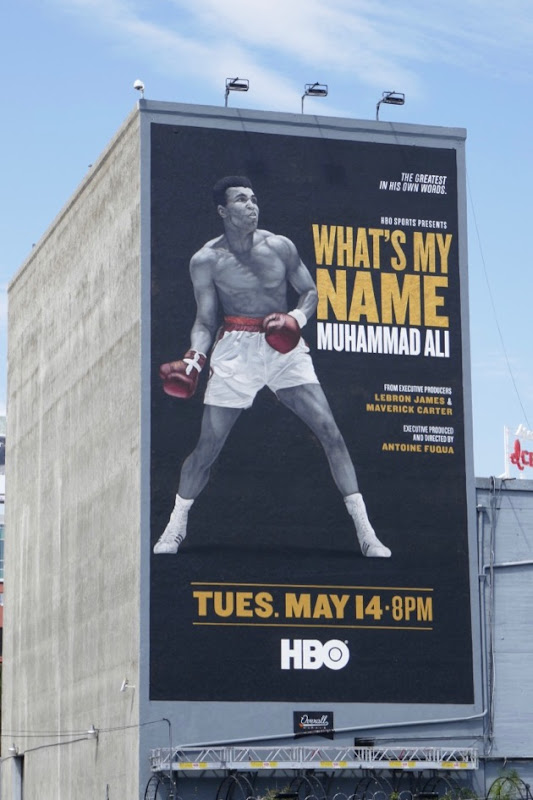 Whats My Name Muhammad Ali HBO billboard