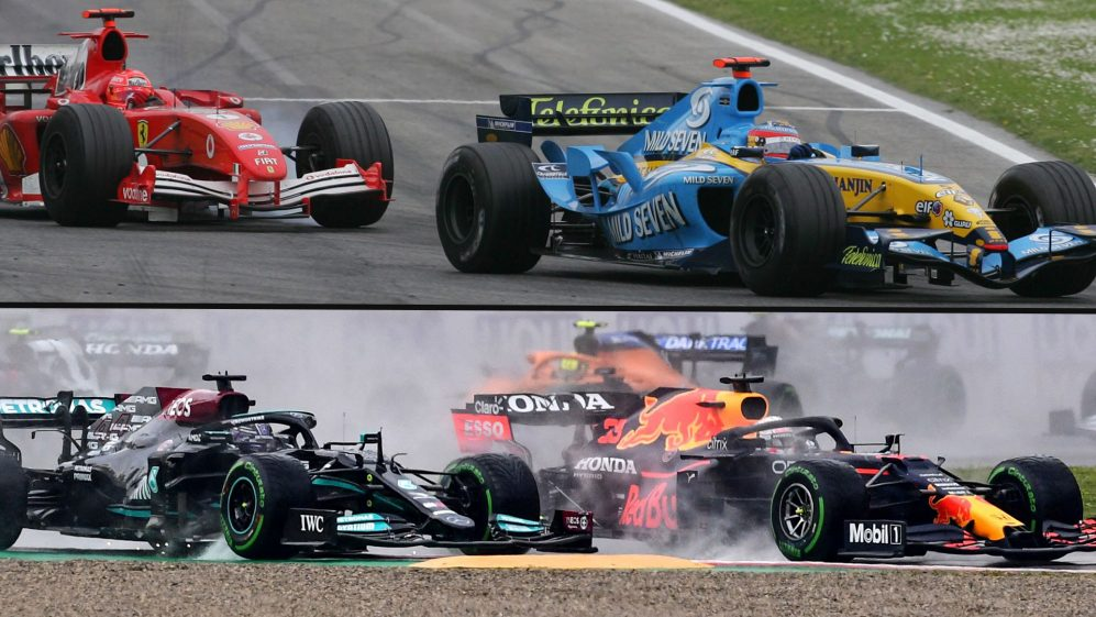 Imola 2021 será uma mudança simbólica da guarda na F1, assim como Imola 2005 foi?