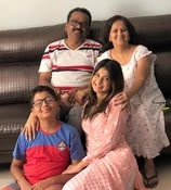 jennifer winget with her family