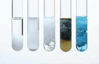 contoh perubahan kimia yang menghasilkan endapan