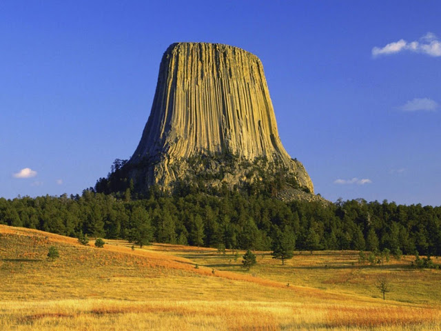 Torre do Diabo - Wyoming - EUA