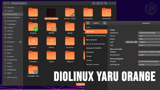 Diolinux Yaru Orange