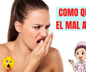 Como quitar el  MAL ALIENTO ( halitosis ) Tratamiento Natural