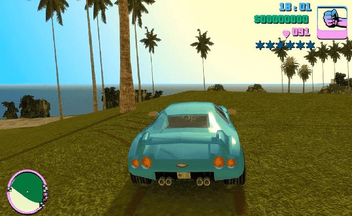 تحميل لعبة جاتا GTA Vice City 8 من ميديا فاير