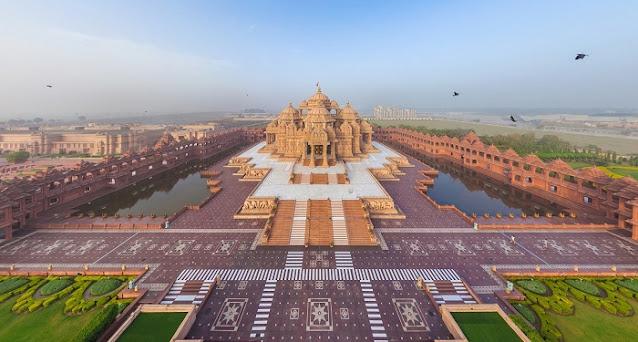 Akshardham Temple, Best Places to Visit in Delhi