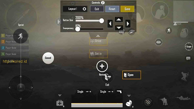 Setting Sensitivitas Terbaik Pro Player Pubg Mobile Claw