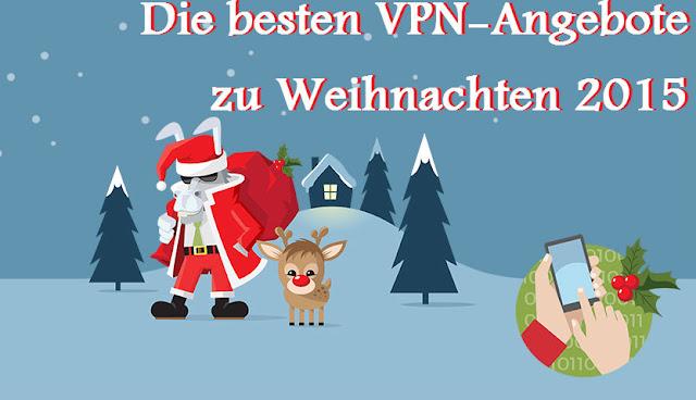 Die besten VPN Angebote zu Weihnachten 2015