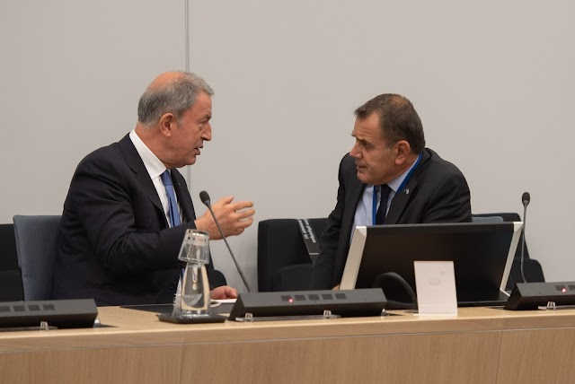 Συνάντηση Παναγιωτόπουλου-Ακάρ: Σεβασμό κυριαρχικών δικαιωμάτων της Χώρας μας ζήτησε ο ΥΕΘΑ (ΦΩΤΟ-ΒΙΝΤΕΟ)