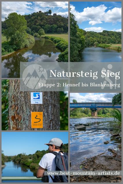 Natursteig Sieg - Etappe 2  Hennef bis Blankenberg  Wandern Naturregion-Sieg 31