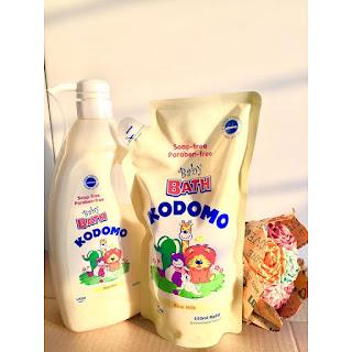 sữa tắm Kodomo