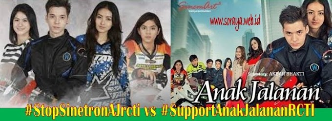 #StopSinetronAJrcti vs #SupportAnakJalananRCTI